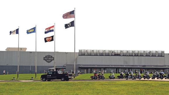 harley plant in Kansas